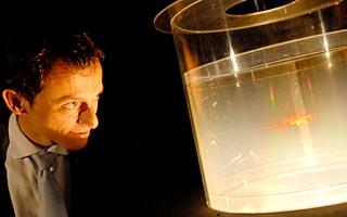 """pedro duque hologramas Pedro Duque. Conferencia: """"Las misiones espaciales"""""""