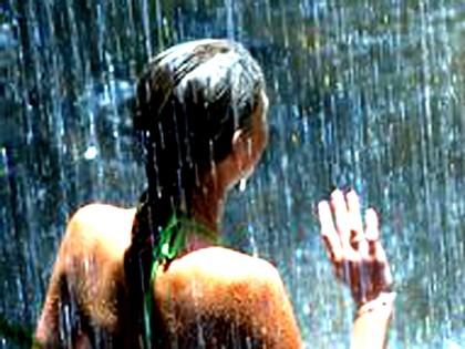 gente mojada El agua no siempre moja.