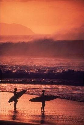 La ola perfecta.