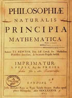 principia Newton.