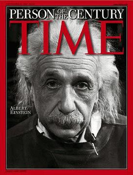 Einstein.Personaje del siglo XX.Time.