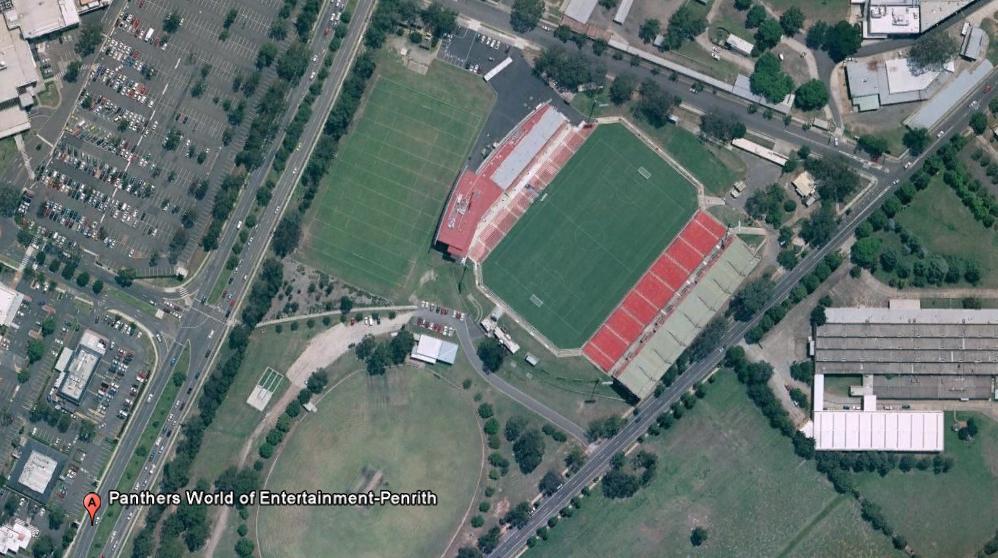 panthers En las antípodas con Bill Bryson y Google Earth.