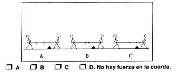cuerda 20 cuestiones (más) para saber si alguien sabe física sin cálculos.