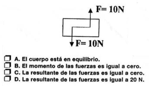 equilibrio 20 cuestiones (más) para saber si alguien sabe física sin cálculos.