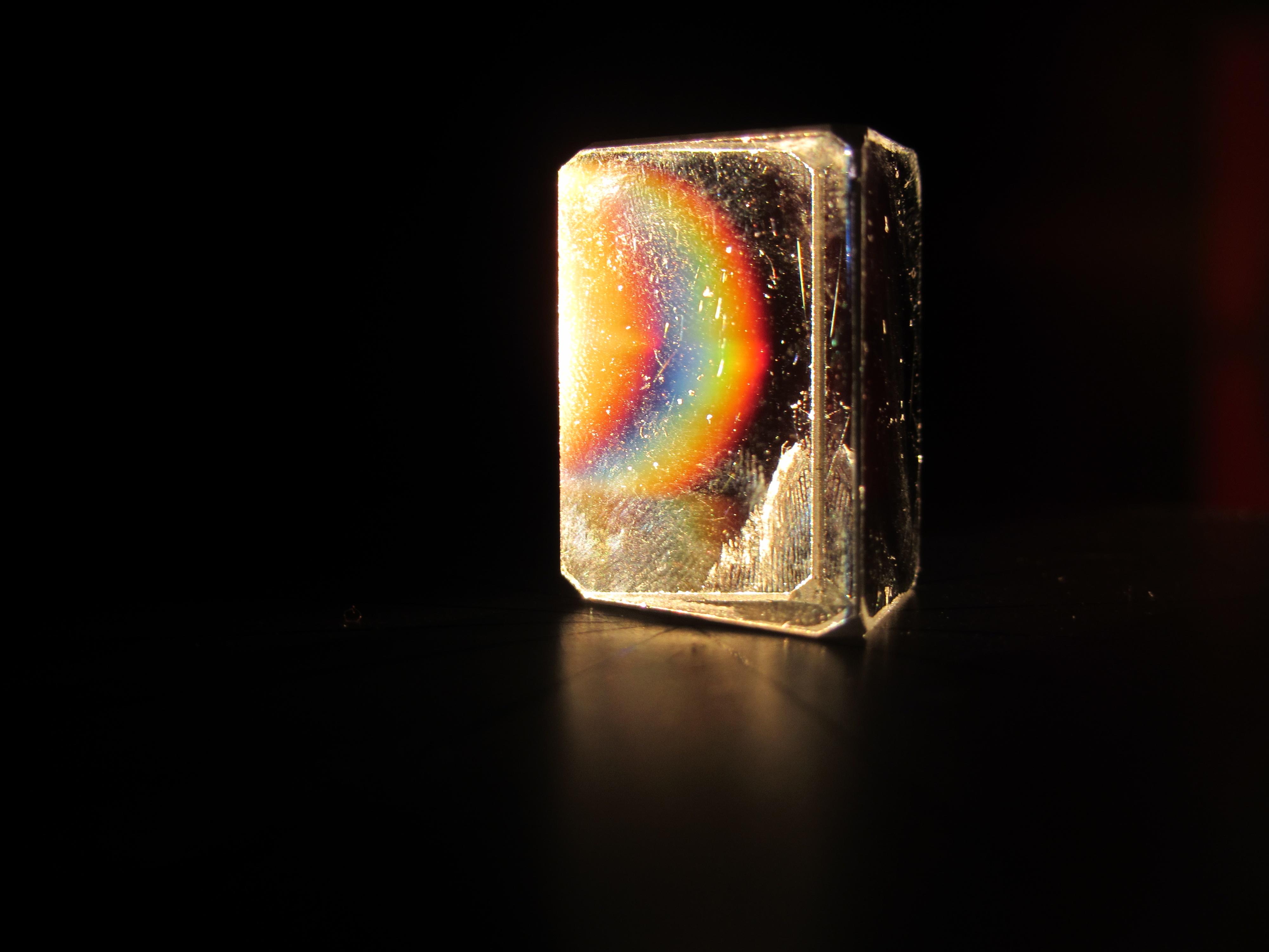 Soñando arco iris Soñando arco iris: mi participación en ENFOCA, concurso de fotografía científica de la ual.