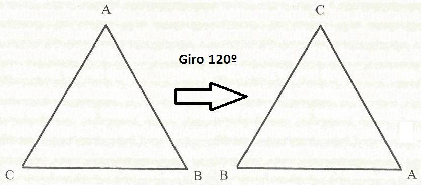 giro 120 ¿Te sabes la tabla de multiplicar...del triángulo equilátero?