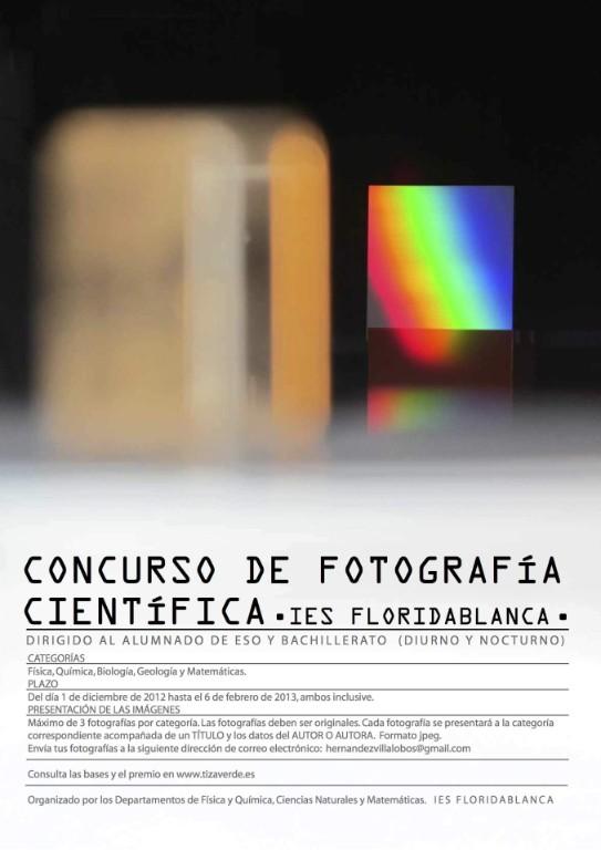 concurso fotografía científica Concurso de fotografía científica del IES Floridablanca.