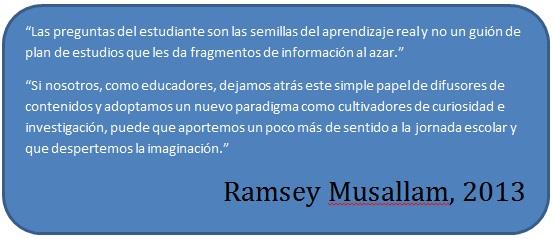 Ramsey Musallam  Ramsey Musallam: 3 reglas para despertar el aprendizaje.