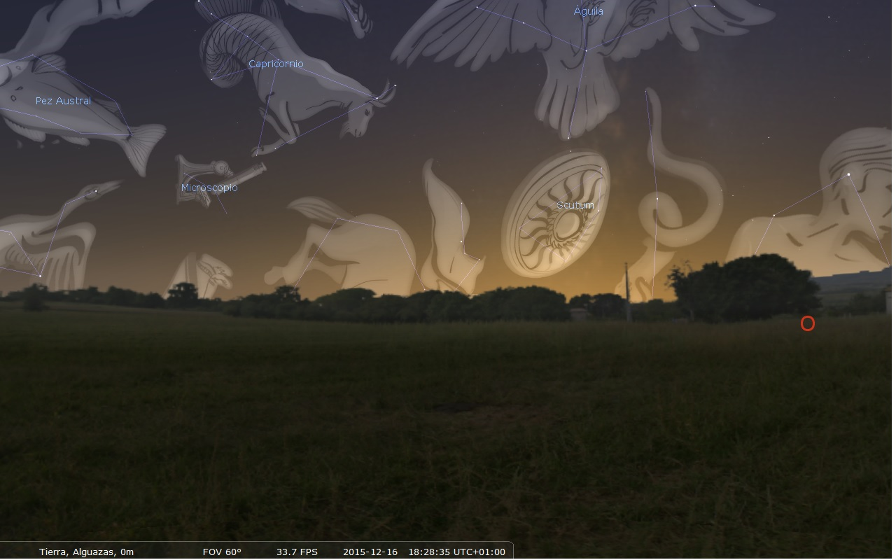 capricornio ¿Cómo sabemos qué constelación está visitando el Sol?