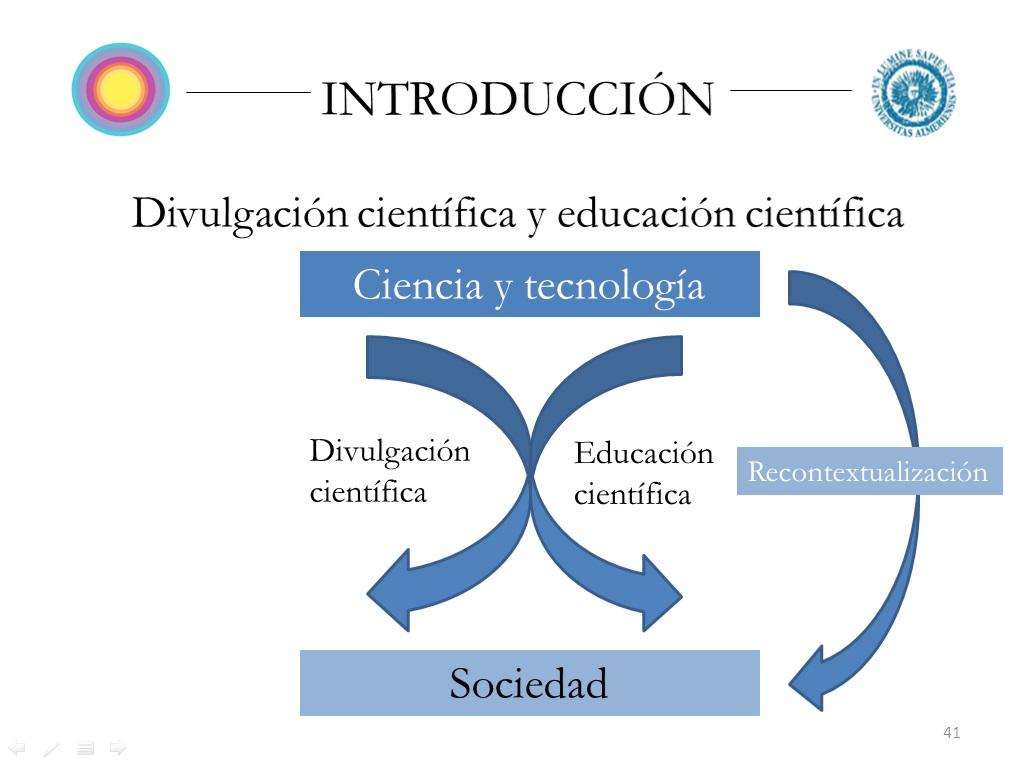 ciencia y sociedad El día que presenté mi tesis sobre divulgación científica.